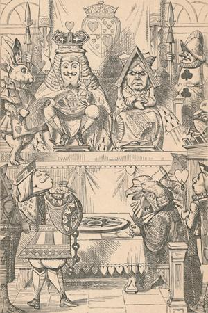 'The King and Queen of Hearts in Court', 1889