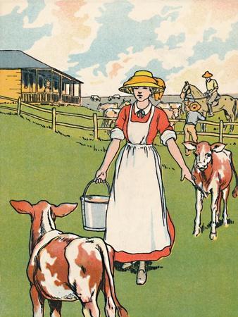 'An Australian Dairy Farm', 1912