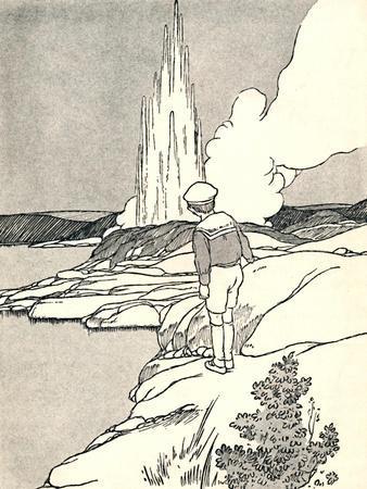 'A Geyser', 1912