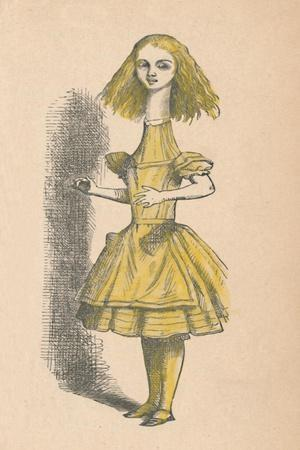 'Alice with a long neck', 1889