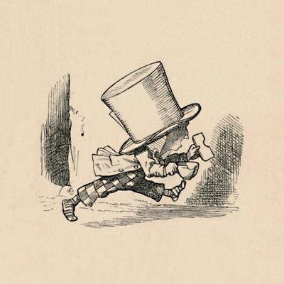 'The Mad Hatter, in the chapter 'The Tarts'', 1889
