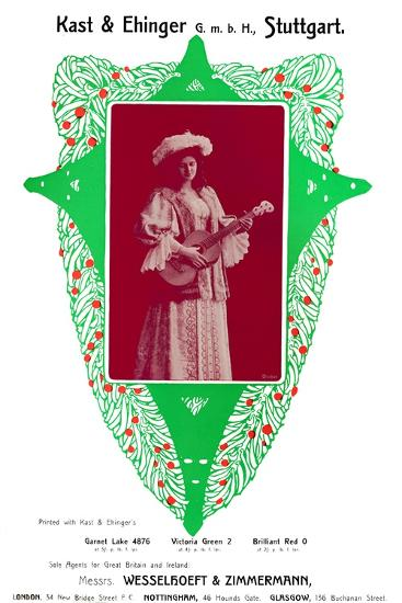 Kast Ehinger Gmbh Stuttgart Advertisement 1907
