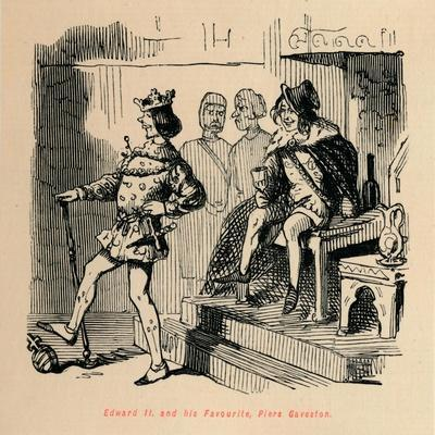 'Edward II. and his Favourite, Piers Gaveston', c1860, (c1860)