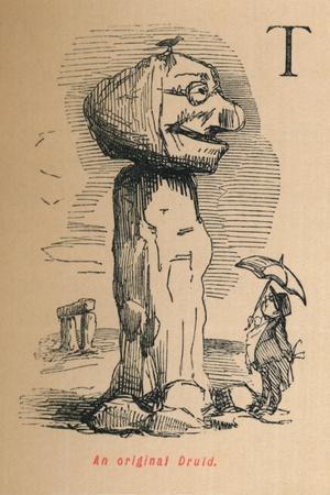 'An original Druid', c1860, (1860)