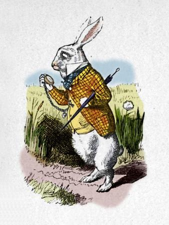 'The White Rabbit with a watch', 1889