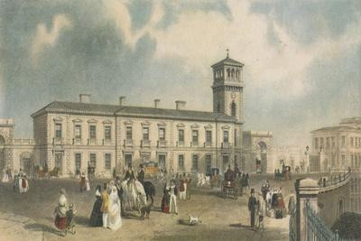 London Bridge Station, Bermondsey, London, 1845
