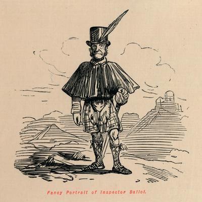 'Fancy Portrait of Inspector Balioi', c1860, (c1860)