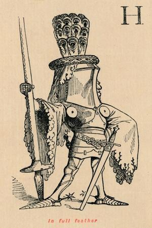 'In full feather', c1860, (c1860)