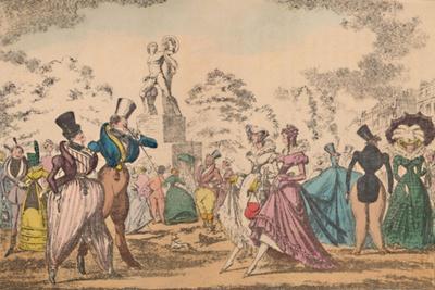 'Hyde Park Corner in 1822', c1870