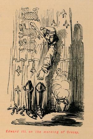 'Edward III on the morning of Cressy', c1860, (c1860)