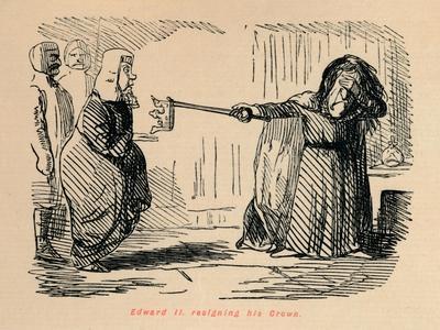 'Edward II. resigning his Crown', c1860, (c1860)
