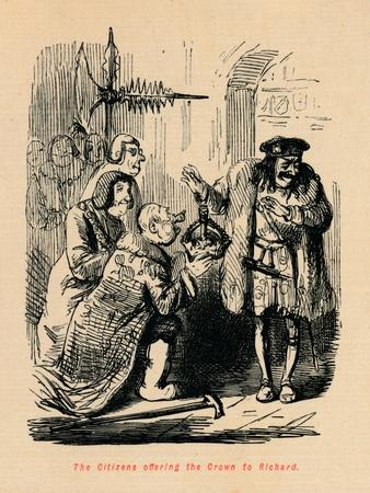 'The Citizens offering the Crown to Richard',