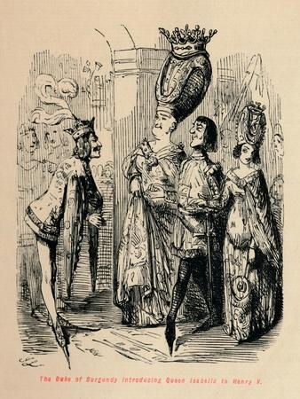 'The Duke of Burgundy introducing Queen Isabella to Henry V', c1860, (c1860)