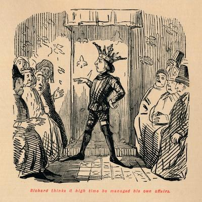 'Richard thinks it high time he managed his own affairs', c1860, (c1860)