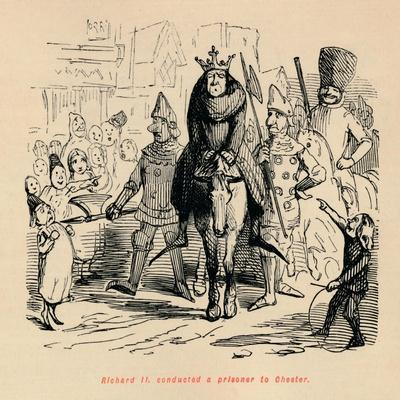'Richard II. conducted a prisoner to Chester', c1860, (c1860)