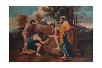 'Et in Arcadia ego (Les bergers d'Arcadie or The Arcadian Shepherds)', 1637-1638, (1911)