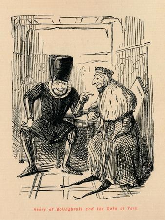 'Henry of Bolingbroke and the Duke of York', c1860, (c1860)