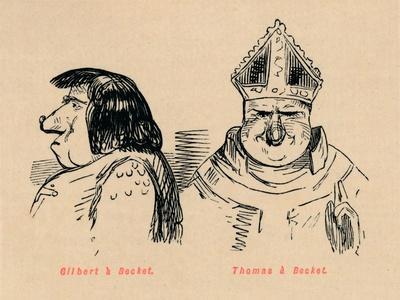 'Gilbert a Becket, Thomas a Becket', c1860, (c1860)