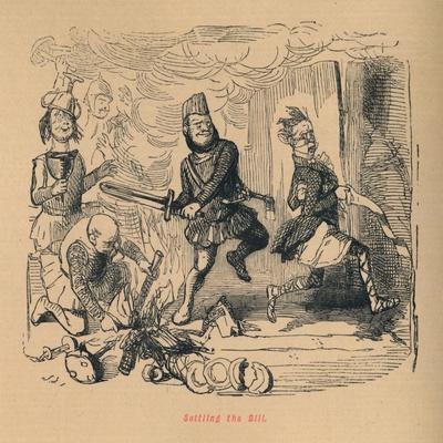 'Settling the Bill', c1860, (c1860)