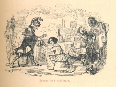 'Rowena and Vortigern', c1860, (c1860)