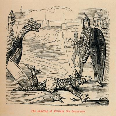 'The Landing of William the Conqueror', c1860, (c1860)