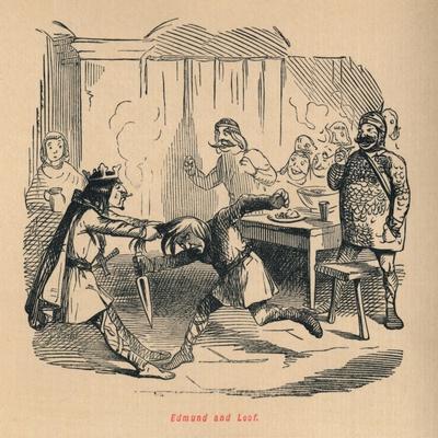 'Edmund and Leof', c1860, (c1860)
