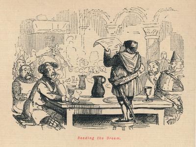 'Reading the Dream', c1860, (c1860)