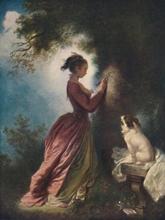 'The Souvenir (Le chiffre d'amour)', c1775-80, (1911)