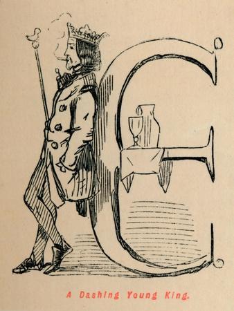 'A Dashing Young King', c1860, (c1860)