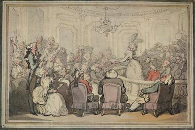 'The Concert. From Matthew Bramble's Trip to Bath.', c1780-1820, (1923)