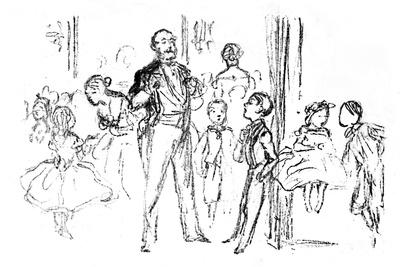 'Juvenile Party, From 'Punch', 1864, (1923)
