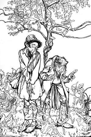 'Little Brother and Little Sister', 1917, (1923)