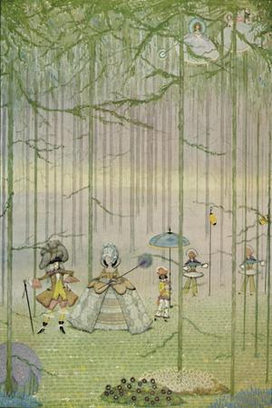'Riquet with the Tuft. From Charles Perrault's Fairy Tales. Water-Colour Drawing', 1923