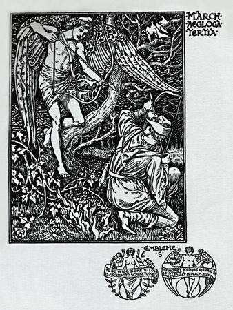'The Shepheard's Calendar - March', 1898, (1923)