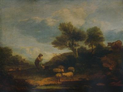 'Landscape with Sheep', 18th century, (1935)