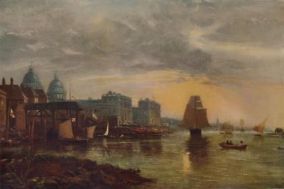 'Greenwich Hospital from the River', 1854, (1935)
