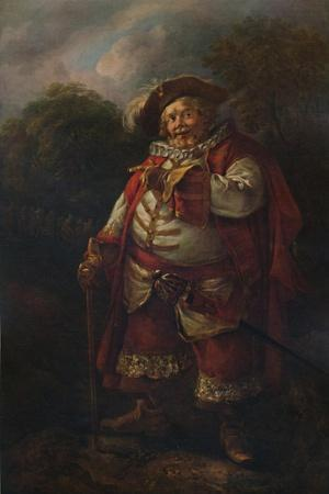 'Portrait of James Quin as Falstaff', 18th century, (1935)