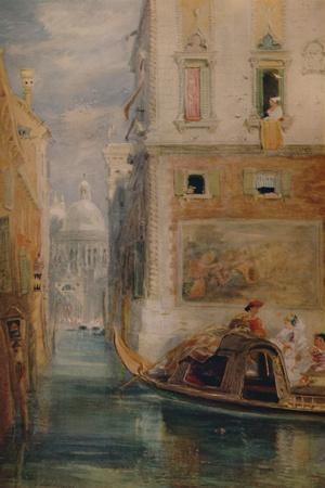 'The Gondola, Venice', 1865, (1935)
