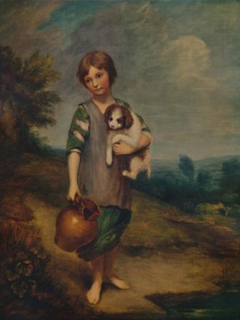 'Cottage Girl with Dog and Pitcher', 1785, (1935)