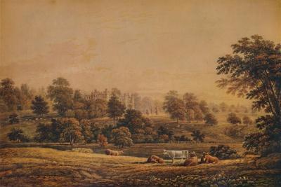 'View of Aldenham Abbey: Hertfordshire', 18th-19th century, (1935)