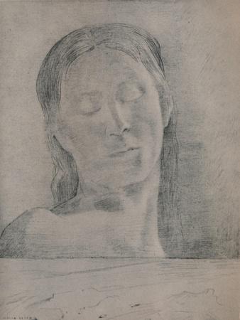'Closed Eyes', c.1890, (1946)