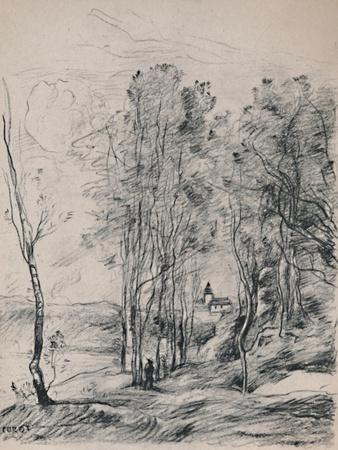 'The Steeple of Saint-Nicolas-Les-Arras', c.1870s, (1946)