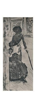 'Mary Cassatt in the Louvre', c.1880, (1946)