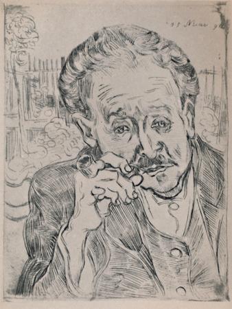 'Portrait of Dr. Gachet', c.1890, (1946)