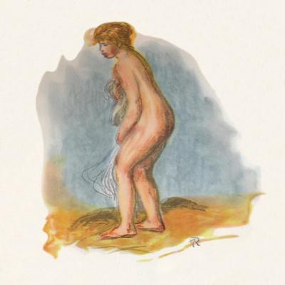 'Bather Standing', 1946