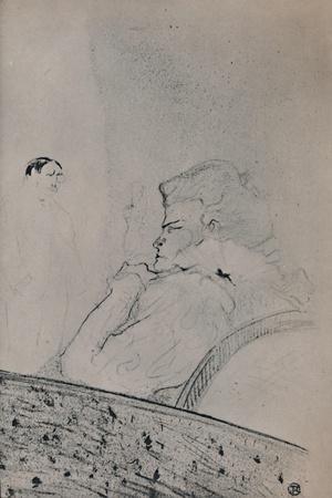 'Brandes in Her Dressing Room', c.1895, (1946)