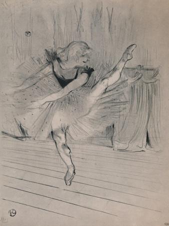 'Miss Ida Heath, English Dancer', c.1894, (1946)