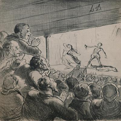 'The Drama', c.1860s,(1946)