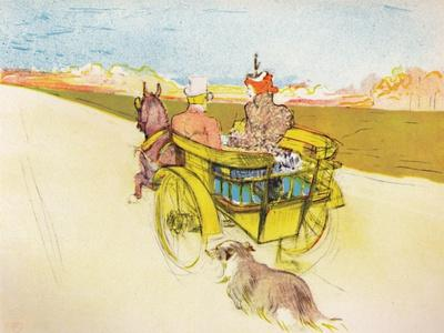 'Dog Cart', c.1897, (1946)