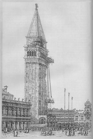 'The Campanile of St. Mark's While Undergoing Repair in 1745', 1903